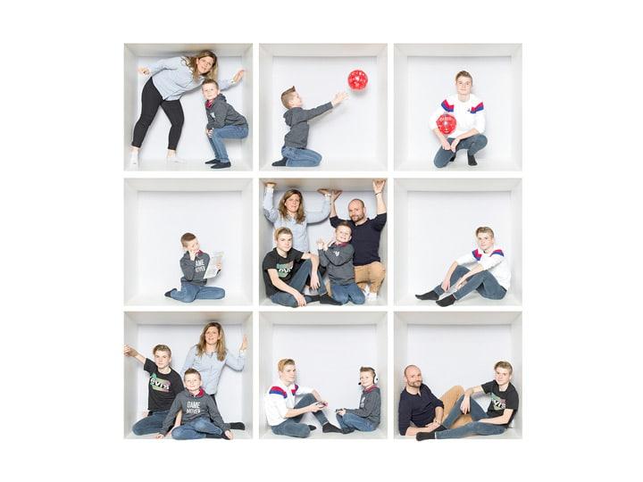 La LopBox, inside the box, Pictur'al Studio, in the box, family box, box, portrait famille dans des cases, cases, portrait de famille, photo de famille, photographe professionnel