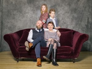 photographe de famille, portrait de Famille, studio photo, photographe famille STE MENEHOULD