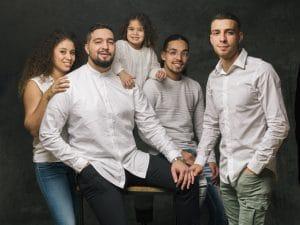 photographe de famille, portrait de Famille, studio photo, photographe famille Chalons