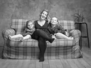 photographe de famille, portrait de Famille, studio photo, photographe famille Fagnieres