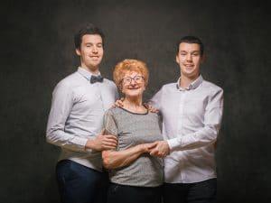 photographe de famille, portrait de Famille, studio photo, photographe famille Vertus