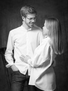 photographe de couple, Chalons en champagne, reims, Épernay, studio photo, studio Chalons, studio reims, couple reims, couple Épernay, photo noir et blanc, love